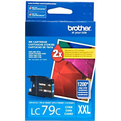 Cartucho p/Brother azul LC79C Brother CX 1 UN
