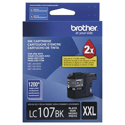 Cartucho p/Brother preto LC107BK Brother CX 1 UN