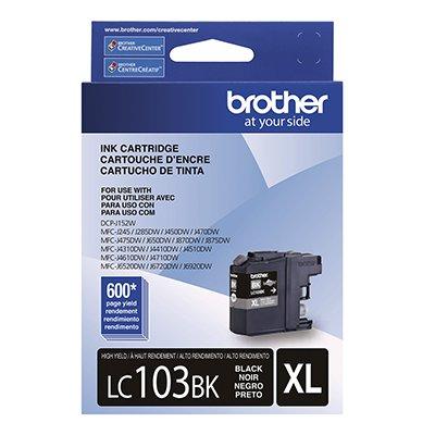 Cartucho p/Brother preto LC103BK Brother CX 1 UN