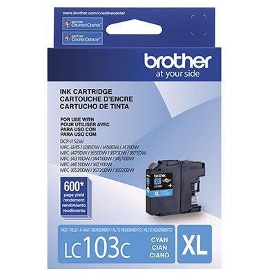 Cartucho p/Brother ciano LC103C Brother CX 1 UN