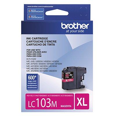 Cartucho p/Brother magenta LC103M Brother CX 1 UN