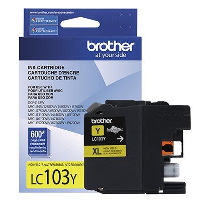 Cartucho p/Brother amarelo LC103y Brother CX 1 UN