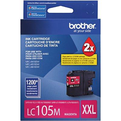 Cartucho p/Brother magenta LC105M Brother CX 1 UN