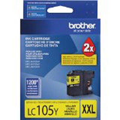 Cartucho p/Brother amarelo LC105Y Brother CX 1 UN