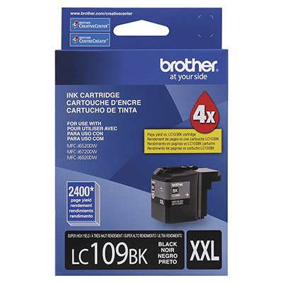 Cartucho p/Brother preto LC109BK Brother CX 1 UN