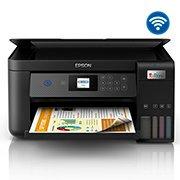 Impressora Multifuncional Tanque de Tinta Ecotank L4260, Colorida, Duplex, Wi-Fi, Conexão USB, Bivolt, Epson - CX 1 UN