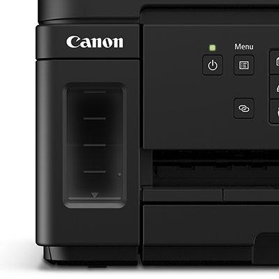 Impressora Multifuncional tanque de tinta MegaTank GM4010, Monocromática, Wi-fi, Conexão Ethernet, Conexão USB, Bivolt - Canon UN 1 UN