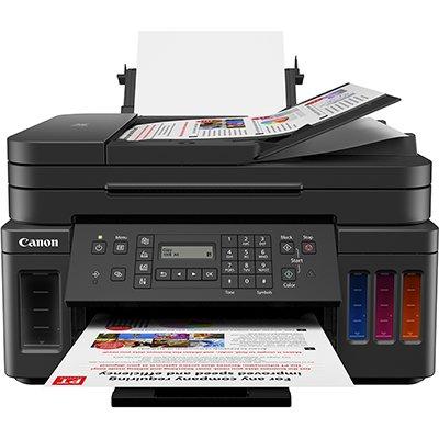Impressora Multifuncional tanque de tinta MegaTank G7010, Colorida, Wi-fi, Conexão Ethernet, Bivolt - Canon UN 1 UN