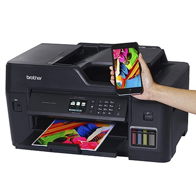 Impressora Multifuncional MFC T4500DW, Colorida, Impressão Duplex, Wi-fi, Conexão Ethernet, Conexão USB, 110v - Brother CX 1 UN