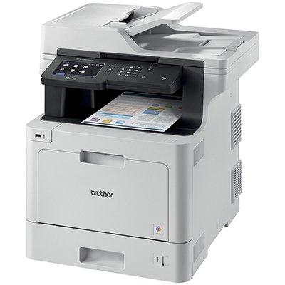 Impressora Multifuncional Laser MFC L8900CDW, Colorida, Impressão Duplex, Wi-fi, Conexão Ethernet, Conexão USB, 110v - Brother CX 1 UN