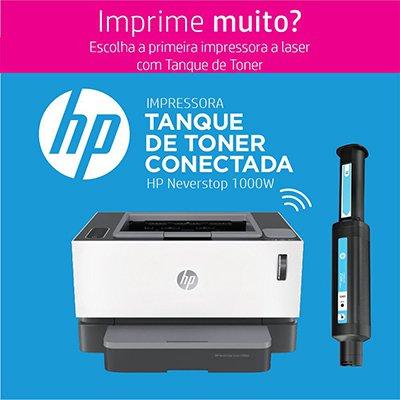 Impressora Multifuncional Laser tanque de toner Neverstop 1200nw 5HG85A, Monocromática, Wi-fi, Conexão Ethernet, Conexão USB, 110v - HP CX 1 UN