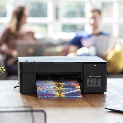 Impressora Multifuncional Tanque de Tinta Colorido DCPT420W, Colorida, Wi-fi, Conexão USB, 110v - Brother CX 1 UN