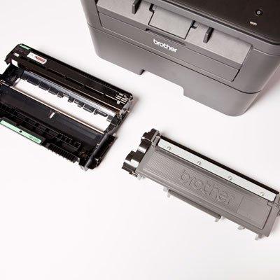 Impressora Multifuncional Laser MFC-L2740DW, Monocromática, Wi-fi, Conexão Ethernet, Conexão USB, 110V - Brother CX 1 UN