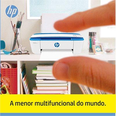 Impressora Multifuncional Deskjet Ink Advantage 3776 azul J9V88A HP CX 1 UN