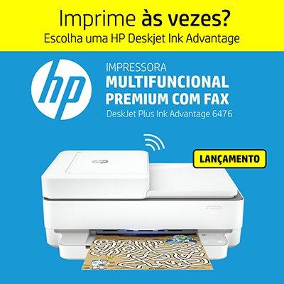 Impressora Multifuncional  Deskjet Ink Advantage 6476 5SD79A HP CX 1 UN