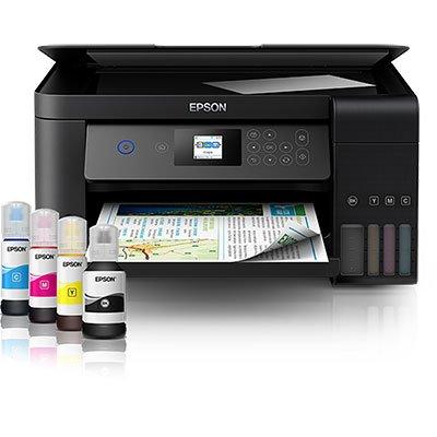 Impressora Multifuncional tanque de tinta Ecotank L4160 Epson  CX 1 UN