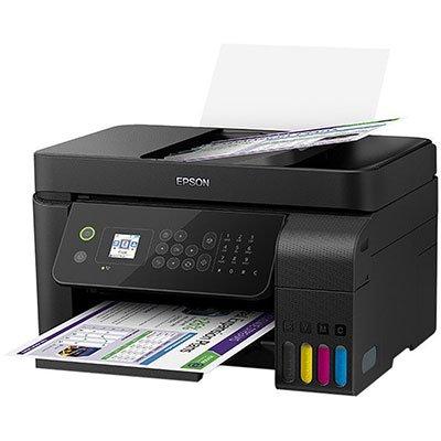 Impressora Multifuncional tanque de tinta Ecotank L5190, Colorida, Wi-fi, Conexão Ethernet, Conexão USB, Fax, Bivolt - Epson CX 1 UN