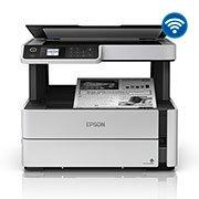 Impressora Multifuncional Tanque de Tinta Ecotank Monocromática M2170, 2 Garrafas de Tintas Inclusas - Epson CX 1 UN