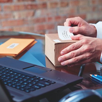 Etiqueta p/impressora térmica 5,4x10,2cm 30323 Dymo CX 220 UN