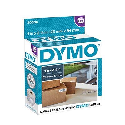 Etiqueta p/impressora térmica 2,5x5,4cm 30336 Dymo CX 500 UN