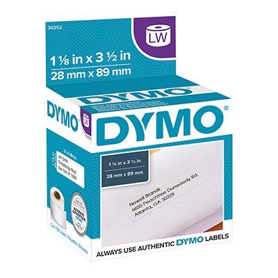 Etiqueta p/impressora térmica 2,8x8,9cm 30252 Dymo CX 700 UN