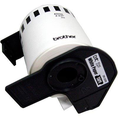 Etiqueta p/impressora térmica 62mmx30,4m DK2205 Brother CX 1 UN