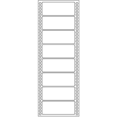 Etiqueta para Impressora Matricial 1 carreira 89x36 pima-tab Pimaco CX 4000 UN