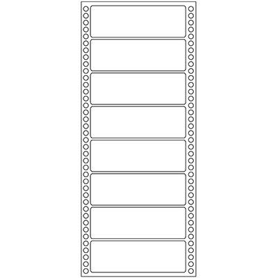 Etiqueta para Impressora Matricial 1 carreira 107x36 pima-tab Pimaco CX 4000 UN