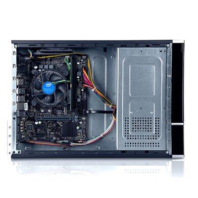 Computador Slim Gigapro, Dual Core de 3.50ghz, Memória de 4gb, SSD de 240gb, Windows 10 - Gigabyte CX 1 UN