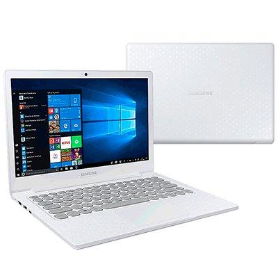 Notebook Flash F30 NP530-AD2, Processador Dual Core de 1.1ghz, Tela de 13.3 pol., Memória de 4gb, Armazenamento de 128GB SSD, Branco - Samsung CX 1 UN