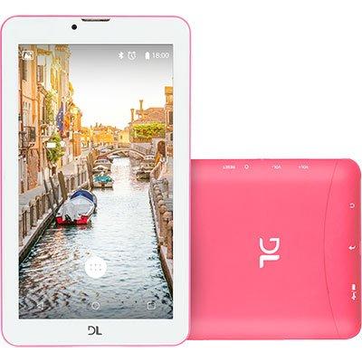 """Tablet Mob Tab, Memória Interna de 8gb, Tela de 7"""", Rosa TX384PIN DL CX 1 UN"""