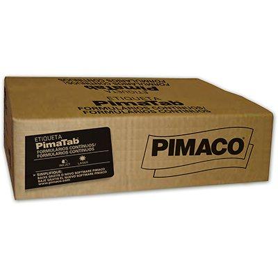 Etiqueta para Impressora Matricial 5 carreiras 26x15 pima-tab Pimaco CX 45000 UN