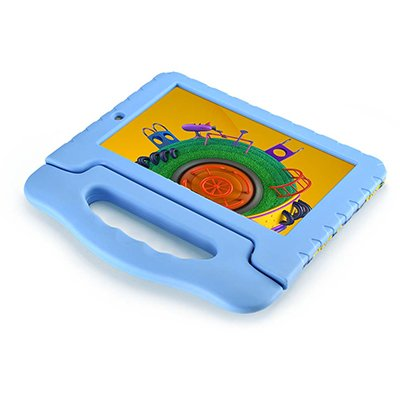 "Tablet Discovery Kids, Memória Interna de 16gb, Tela de 7"", Azul - NB309 Multilaser CX 1 UN"