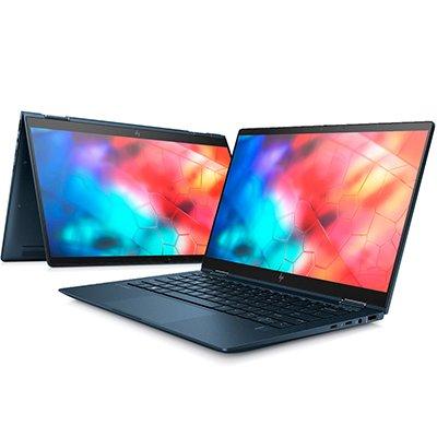 """Notebook 2 em 1 HP Dragonfly, Processador Core i5, 8GB de Memória, 256GB SSD de Armazenamento, Tela Touchscreen de 13.3"""" - 9LE52LA CX 1 UN"""