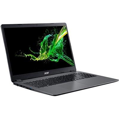 """Notebook A315-54K-310A, Processador Core i3 de 2.20ghz (8º geração), 4gb de Memória, 1TB de Armazenamento, Tela de 15.6"""" - Acer  CX 1 UN"""