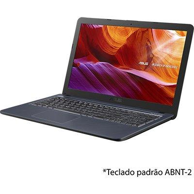 """Notebook Vivobook Asus, Processador Core i3, 4GB de Memória, 256GB SSD de Armazenamento, Sistema Operacional Endless OS, Tela 15,6"""", X543UA - DM3459 CX 1 UN"""