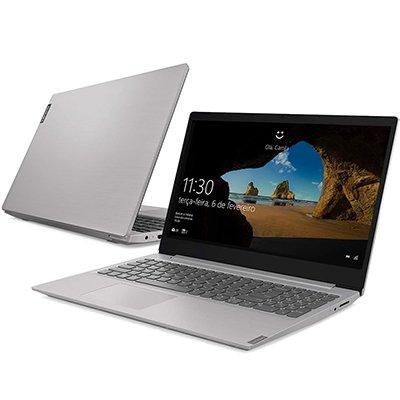 """Notebook IdeaPad S145, Processador Core i7 (8ª geração) de 1.8ghz, Memória de 8gb, 256gb SSD de Armazenamento, Tela de 15,6"""" - Lenovo  CX 1 UN"""