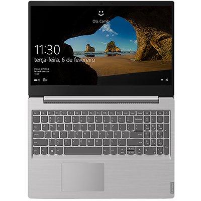 """Notebook Lenovo IdeaPad S145 Processador Intel Core i7 10a. Geração, 8GB de Memória, 256GB SSD de Armazenamento, Tela de 15,6"""" CX 1 UN"""