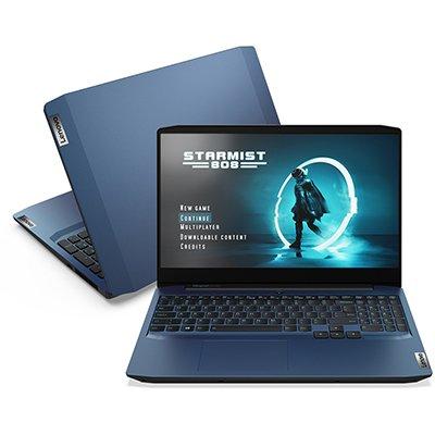"Notebook ideapad Gaming 3i Lenovo, Processador Core i7, 8GB de Memória, 512GB SSD de Armazenamento, NVIDIA® GeForce® GTX1650 4GB, Tela de 15.6"" CX 1 UN"