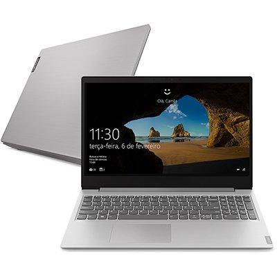 "Notebook Ideapad S145 Lenovo, Processador Core i5, 8GB de Memória, 256GB SSD de Armazenamento, Tela de 15.6"" - CX 1 UN"