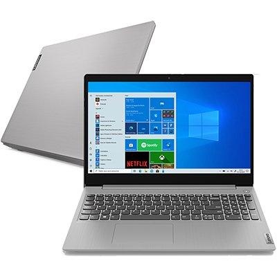 """Ultrabook - Lenovo 82bss00200 I5-10210u 1.60ghz 8gb 256gb Ssd Intel Hd Graphics Linux Ideapad 3i 15,6"""" Polegadas"""