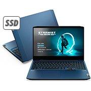 Notebook ideapad Gaming 3i Lenovo, Processador Core i5, 8GB de Memória, 256GB SSD de Armazenamento, NVIDIA® GeForce® GTX1650 4GB, Tela de 15.6 CX 1 UN