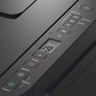 Impressora Multifuncional tanque de tinta Mega Tank G3110, Colorida, Wi-fi, Conexão USB, Bivolt - Canon CX 1 UN