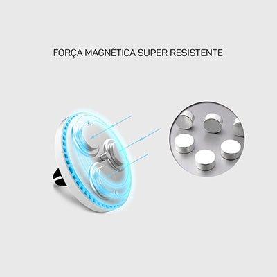 Suporte veicular p/ Smartphone magnético ECCH2 Elg BT 1 UN