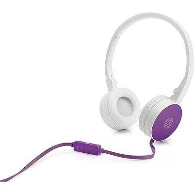 Headphone branco/roxo H2800 F6J06AA HP CX 1 UN