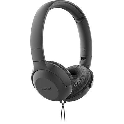 Headphone com Microfone, Preto, TAUH201BK, Philips CX 1 UN