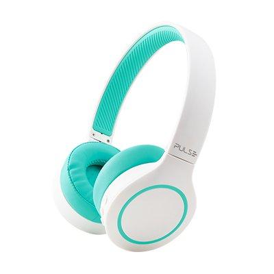 Headphone Bluetooth branco-verde PH342 Multilaser CX 1 UN