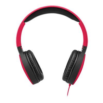 Headphone dobrável new fun vermelho PH270 Multilaser CX 1 UN