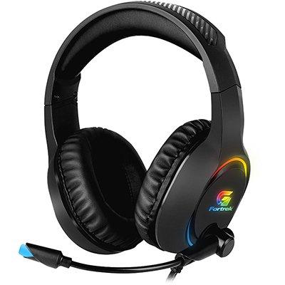 Headset Gamer RGB Holt Preto Fortrek CX 1 UN
