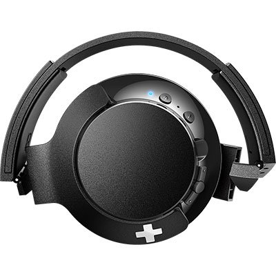Headphone Philips Bluetooth Preto Sem Fio Shb3175bk/00 Bass+ Over Ear BT 1 UN